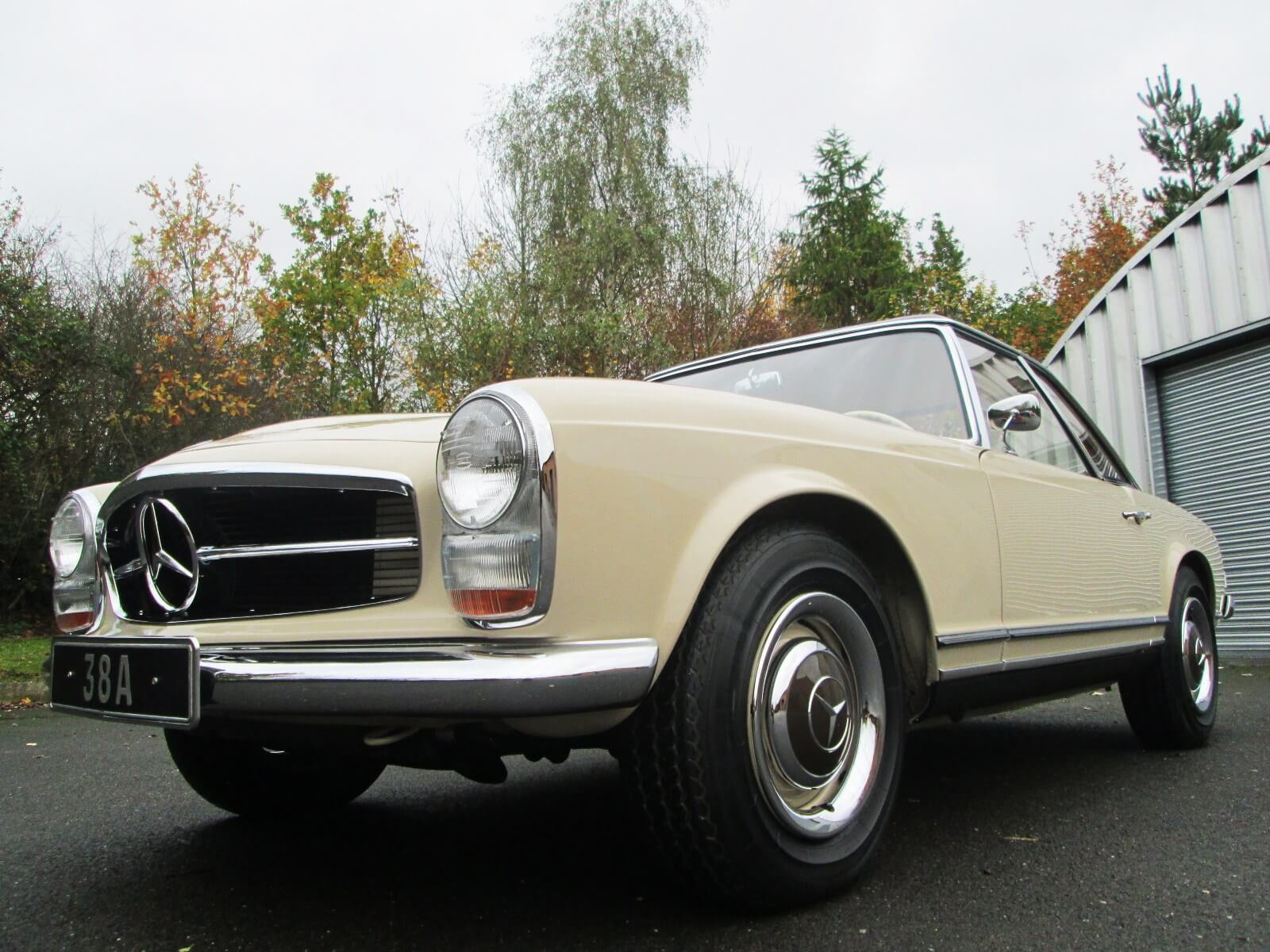 1965 mercedes 230 sl auto sherwood restorations for Garage mercedes bron