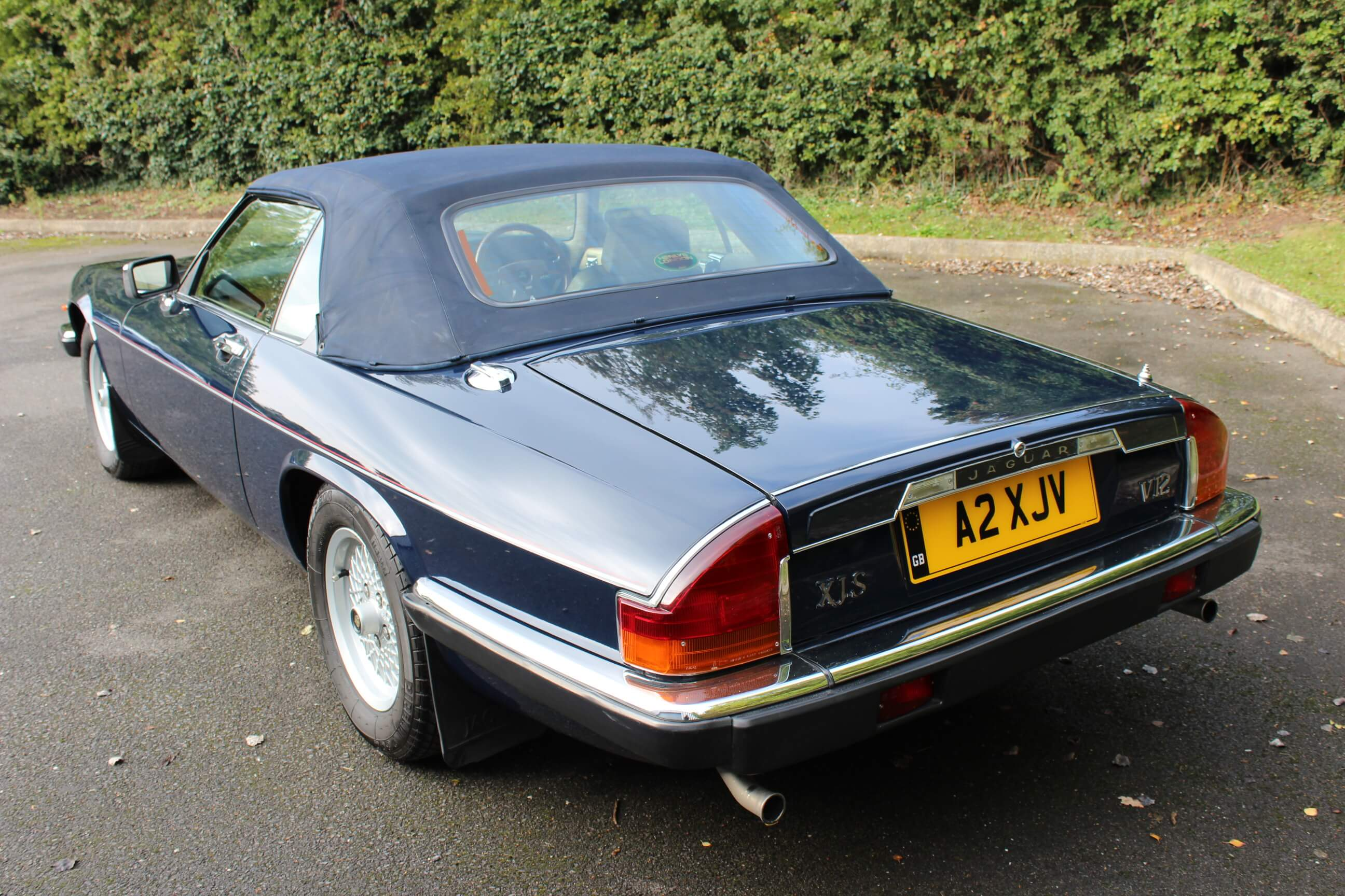 1989 Jaguar Xjs 5 3 V12 Convertible Auto Sherwood