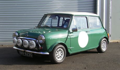 1969 Austin Mini Cooper 1275 S Mk2 Works Rally Spec Sherwood