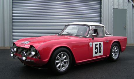 1962 Triumph Tr4 Surry Top Race Rally Sherwood Restorations