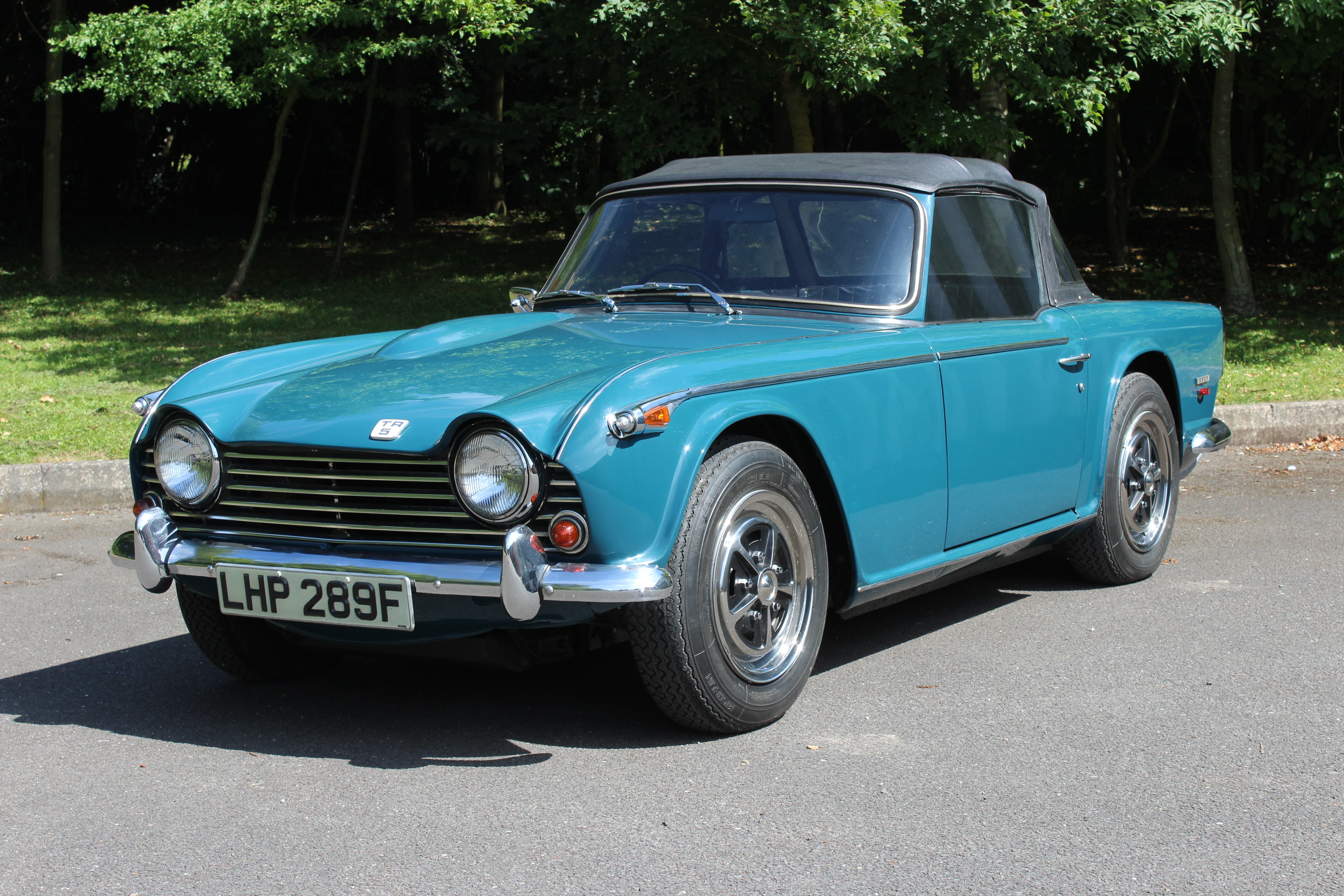 1967 Triumph Tr5 Cp2 The Very First Production Tr5