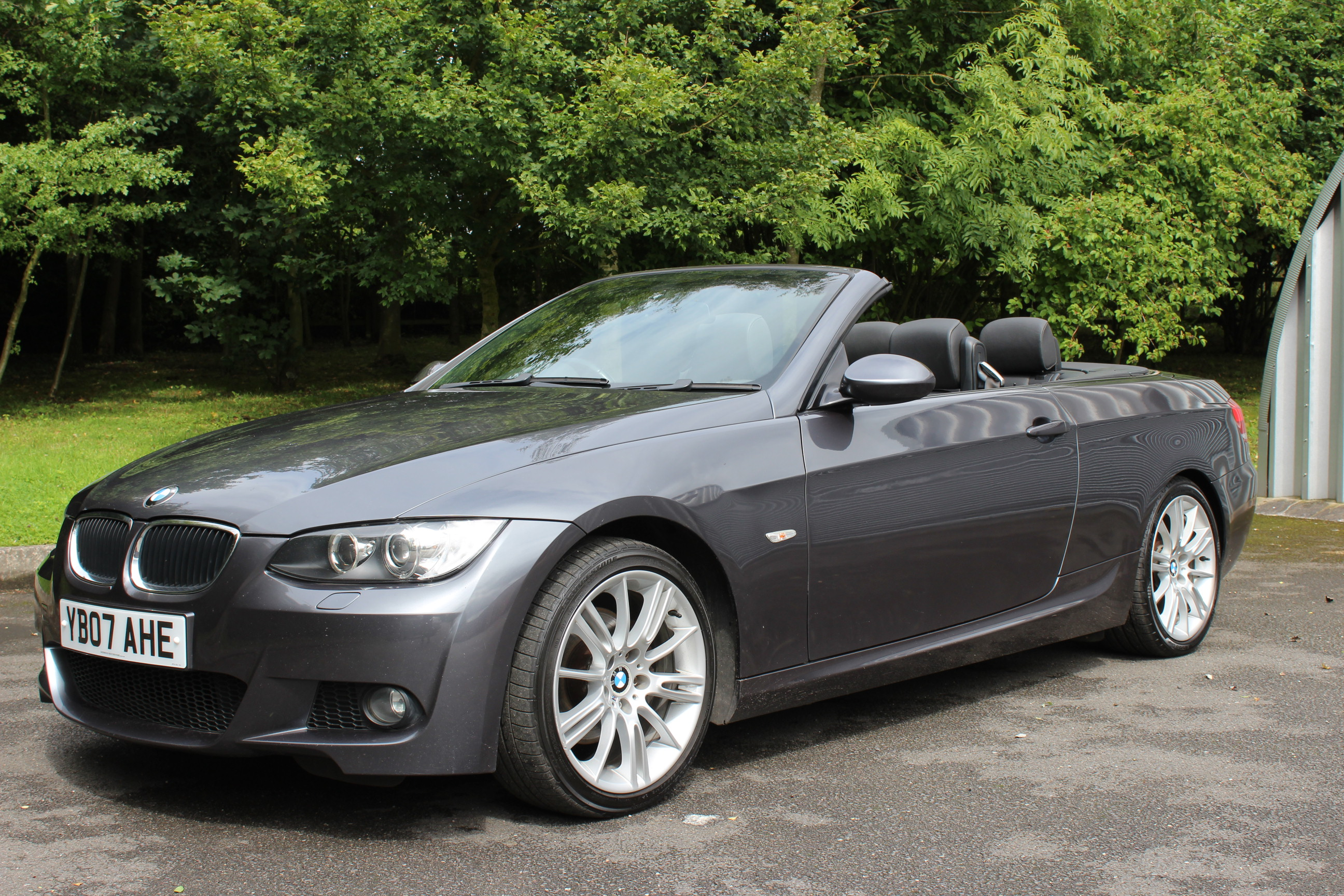 2007 bmw 320i m sport convertible sherwood restorations. Black Bedroom Furniture Sets. Home Design Ideas
