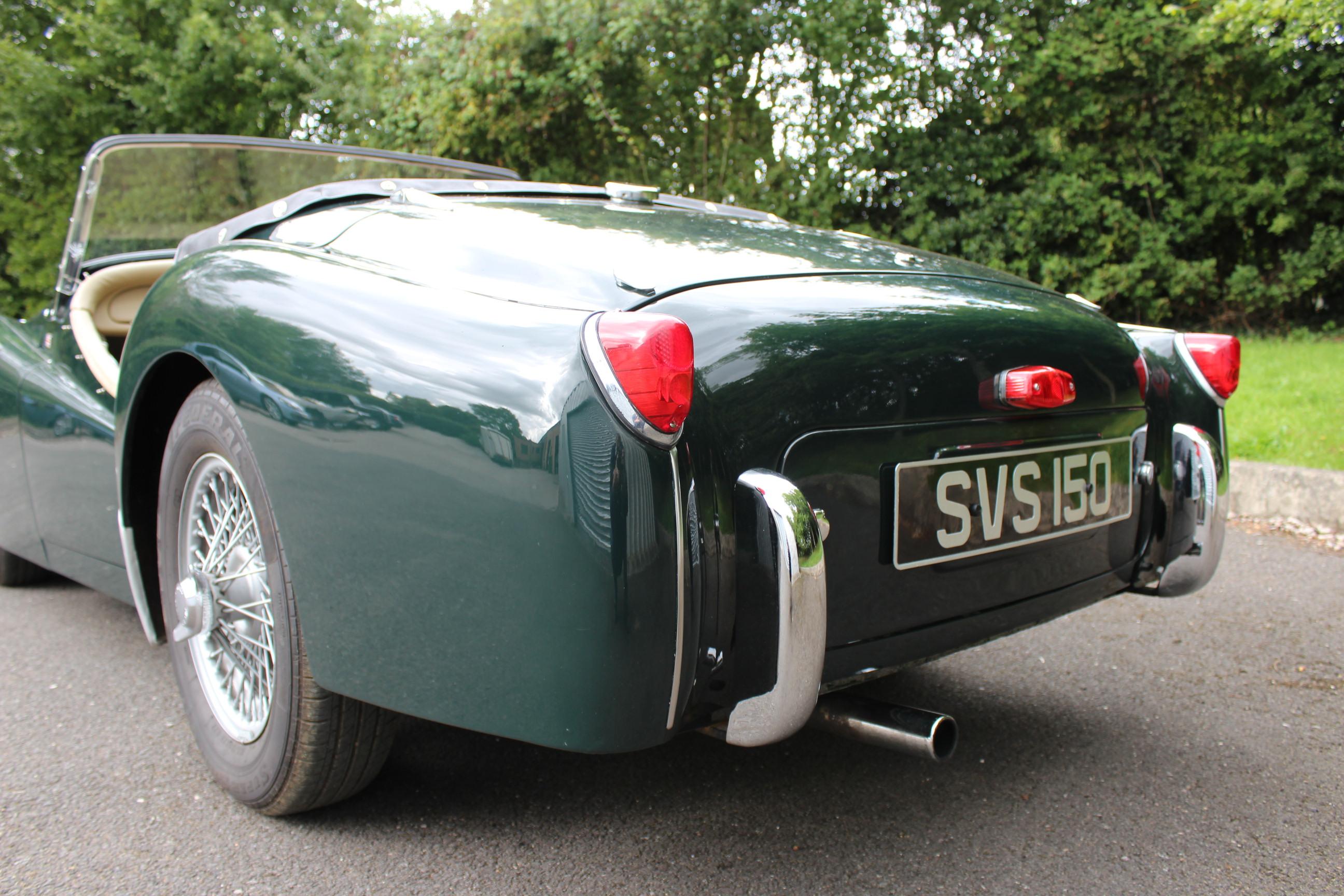 1956 triumph tr2- overdrive
