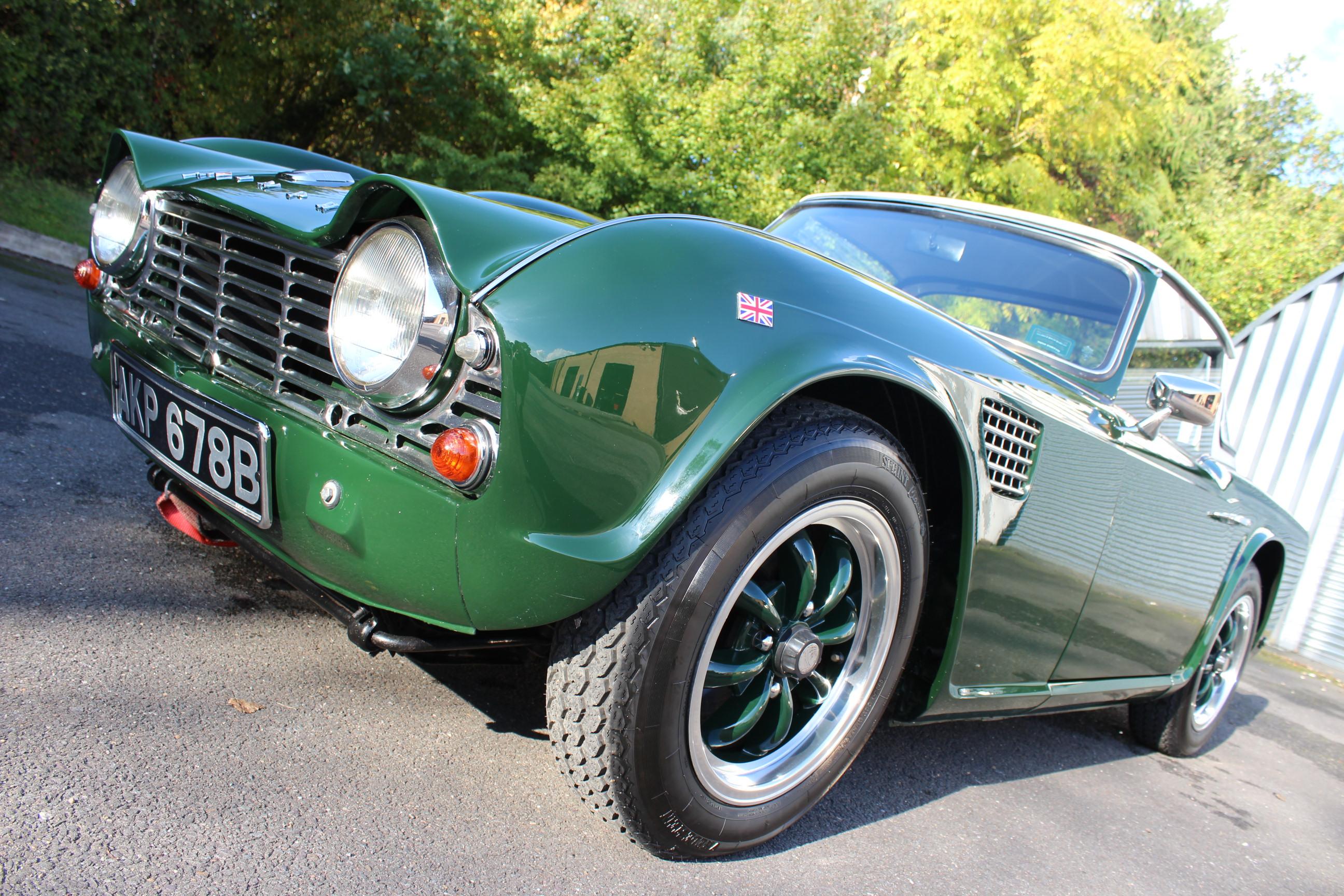 1964 Triumph Tr4 Sherwood Restorations